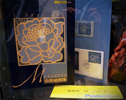 高価な刺繍の切手