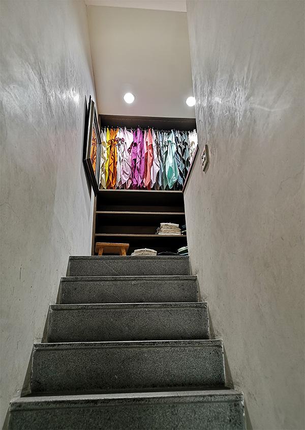 お店の二階