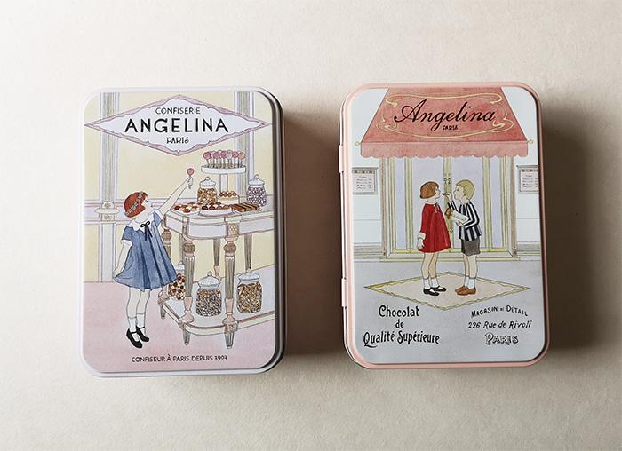 アンジェリーナの缶